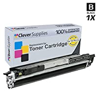 Clever Supplies ©互換トナーカートリッジ4色Set for HP Pro 200 m275nw ( ce310 a ce311 a ce312 a ce313 a ) HP 126 A、色、LaserJet cp1020、cp1025nw、Pro m175nw、Pro 100 Color MFP m175nw