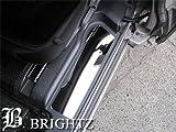 BRIGHTZ 【 BRIGHTZ アイシス 10 11 15 超鏡面ステンレスメッキエントランスモール 4PC 】  ANM10G ANM15G ANM10W ANM15W ZNM10W ZNM10G ZGM11G ZGM15W ZGM10W ZGM11W ZGM10G ZGM15G 3463