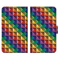 ドコモ シャープ AQUOS R (SH-03J) 高品質手帳 ベルトあり 手帳型ケース 手帳型カバー スライド式スマホケース 完全受注生産 カラフル きれい 029