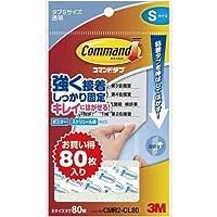 スリーエムジャパン コマンドTMタブクリアお買得パックSサイズ
