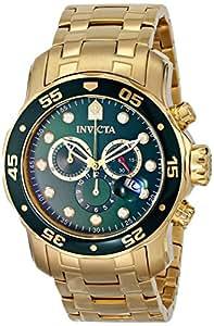 [インビクタ] Invicta 腕時計 Pro Diver Collection プロダイバー コレクション スイス製クォーツ 0075 メンズ 日本語取扱説明書付き [バンド調節工具&高級セーム革セット]【並行輸入品】