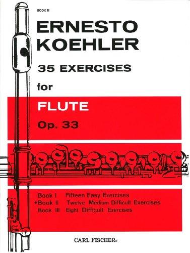 ケーラー: フルートのための35の練習曲 第2巻/カール・フィッシャー社