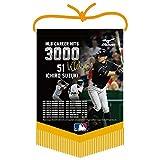 MIZUNO(ミズノ) イチロー選手 MLB3,000本安打達成記念 タペストリー 1GJRTA0400