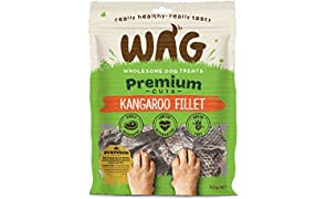 Kangaroo Fillet 750g, Grain Free Hypoallergenic Natural Australian Made Dog Treat Chew, Perfect for Training