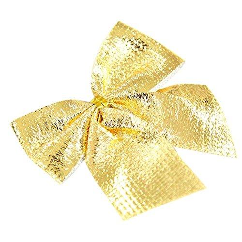 (デイリー スウィート)Daily Sweet クリスマスツリー 飾り 蝶結び  クリスマス装飾用 小物 部屋飾り 店舗飾り クリスマスプレゼント (ゴールド)