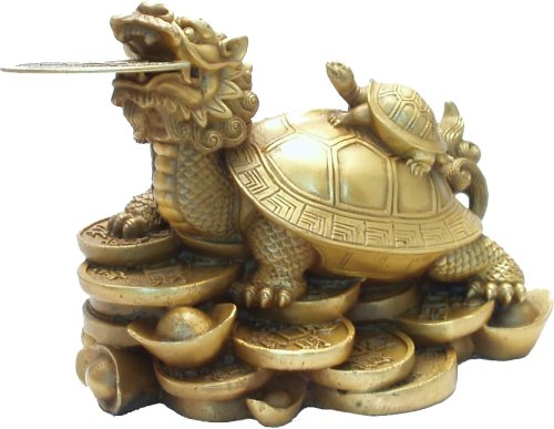 龍亀の置物(中)
