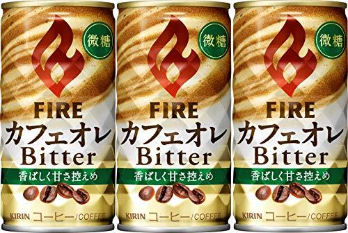 キリンビバレッジ ファイア カフェオレビター 185g 1セット(60缶)