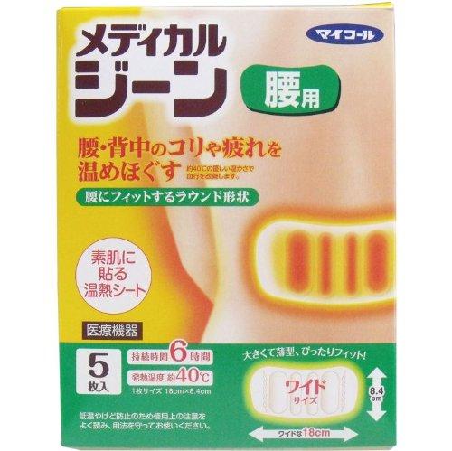 [해외]피부에 붙이는 온열 시트 먼지 요통에! /Thermal sheet paste on bare skin Flying back pain!