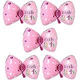 Blesiya 箔バルーン バルーン 風船 ちょう結び 可愛い 子供 誕生日 パーティー 装飾 ピンク 5個入