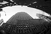 【アメリカの風景/ニューヨークのポストカード】マンハッタンの風景のハガキ photo by MIRO