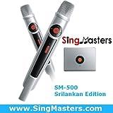 SingMasters Magic Sing Sri Lankan Sinhala Karaoke Player,4025 Hindi,147 Sinhala,410 Tamil Songs Dual Wireless Microphones,YouTube Compatible,Hindi Magic Sing,HDMI,Song Recording,Karaoke Machine