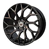 レイズマルカホイールズ makina ISOTTA SCALARE 16 x 6.0 53 5H 112 ブラックポリッシュブラッククリア