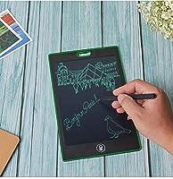電子メモ帳 電子メモパッド デジタルメモ ロック機能 絵描き 伝言板 単語帳 筆談ボ-ド メモ取り LCD液晶パネル ワンタッチ消去 電池交換可能 ペン付き 8.5インチ グリーン