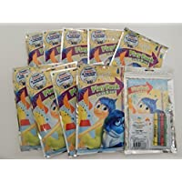 Inside Out PlayパックGrab & GoカラーリングBook ,ステッカーandクレヨン。10パックのバンドル。パーティーFavors、Stocking Stuffers
