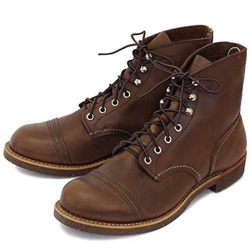 8111 IRON RANGE BOOTS(アイアンレンジブーツ) Amber Harness Leather レッドウィング