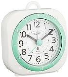 リズム時計 DAILY ( デイリー ) 小型 防滴 目覚まし 時計 アクアパークミニDN グリーン 4SE547DN05