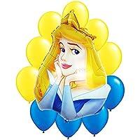 ディズニープリンセスSleeping Beautyバルーンブーケ11pc