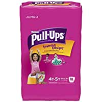 Huggies Pull-Ups Training Pants - Learning Designs - Girls - 18 ct., Size 18 by Pull-Ups [並行輸入品]