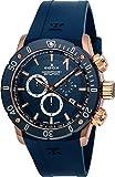 ご注文後ショップ評価を頂けますと純正ベルト1本プレゼント 国内正規品 EDOX エドックス クロノオフショア1/CHRONOFFSHORE-1 メンズ 腕時計 クオーツ 10221-37RBU3-BUIR3