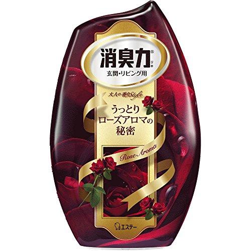 お部屋の消臭力 消臭芳香剤 部屋用 うっとりローズアロマの香り 400ml