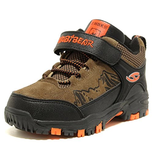 アウトドア トレッキング キッズ・ジュニアシューズ 登山靴 ウォーキング ハイキングブーツ 男の子 女の子 スポーツ 通学 防水 防滑 防寒