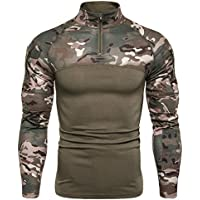 High Grade Quick Dry Military Army T-Shirt Men Long Sleeve Camouflage Tactical Shirt Hunt Combat Soldier Field T-Shirts Outwear