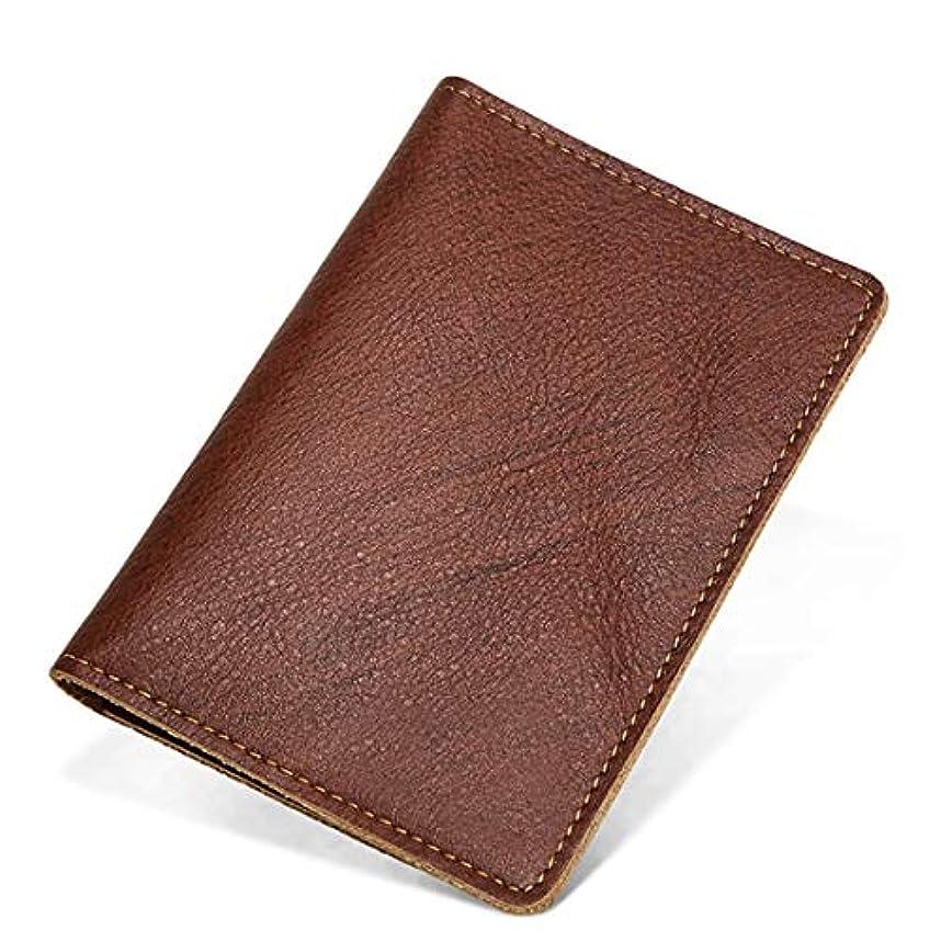 数学光沢のある軌道JOYS CLOTHING 革パスポートケースRFIDブロッキングパスポートホルダー多機能ドキュメントホルダー