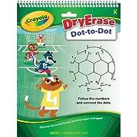 Crayola 98–8565Dry Erase dot-to-dotタブレット