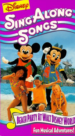 Disney Sing Along Songs: Beach Party at Disney [VHS]