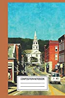 """Notebook: Vermont Middlebury , Journal for Writing, Size 6"""" x 9"""", 164 Pages"""