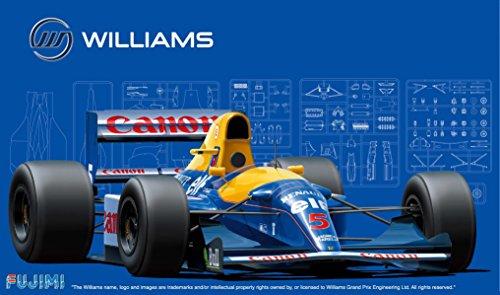 [해외]후지 모델 1 20 그랑프리 시리즈 No.5 윌리엄스 FW14B 1992 프라 모델/Fujimi Model 1 20 Grand Prix Series No.5 Williams FW 14B 1992 Plastic model