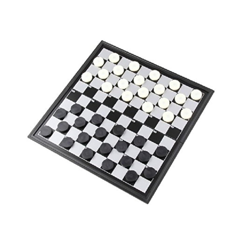 (イスイ)YISHUI 折りたたみ 西洋碁 ドラフツ チェッカーセット 100フィールド