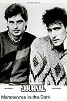 Journal: Orchestral Manoeuvres in the Dark OMD English Electronic Band Architecture & Morality (1981) Album, Journals Graph Paper Composition Notebook, Diary • One Subject 6 x 9 • 110 Pages