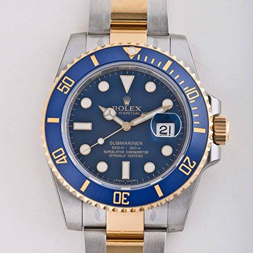 ロレックス サブマリーナ 116613LB ブルー メンズ ...