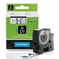 """Dymo dym45014LabelManager 420p d1ハイパフォーマンスラベルテープ、1/ 2"""" x 23ft、ブルーonホワイト"""