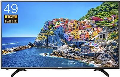 ハイセンス 49V型フルハイビジョン液晶テレビ 外付けHDD録画対応(裏番組録画) メーカー3年保証 HJ49K3120