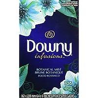 Downy ダウニーシート インフュージョン ボタニカルミスト 105枚 (乾燥機用柔軟仕上げ剤シート)