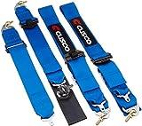 クスコ ( CUSCO ) 【 レーシングハーネス 】 4点式 (BLUE) 00B CRH 4BL