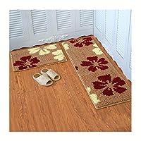 %エリアカーペット 家の床のマット、吸水油の証拠の塵の除去アンチスキッド、キッチンバスルームカーペットセット カーペット (色 : E, サイズ さいず : 40*120cm)