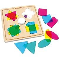 Legler tile-basedゲームマジック木製パズル