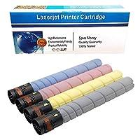 Machter Compatible Toner Cartridge Replacement for Konica Minolta TN-324 TN-324K TN-324C TN-324M TN-324Y for BIZHUB C454E, C554E, C458, C558, C658 Printers (Black Cyan Magenta Yellow, 4 Pack)