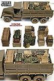 1/35 WWII アメリカ トラック ジミー用積荷セット1 [UST01] 2.5 Ton Truck Load Set #1