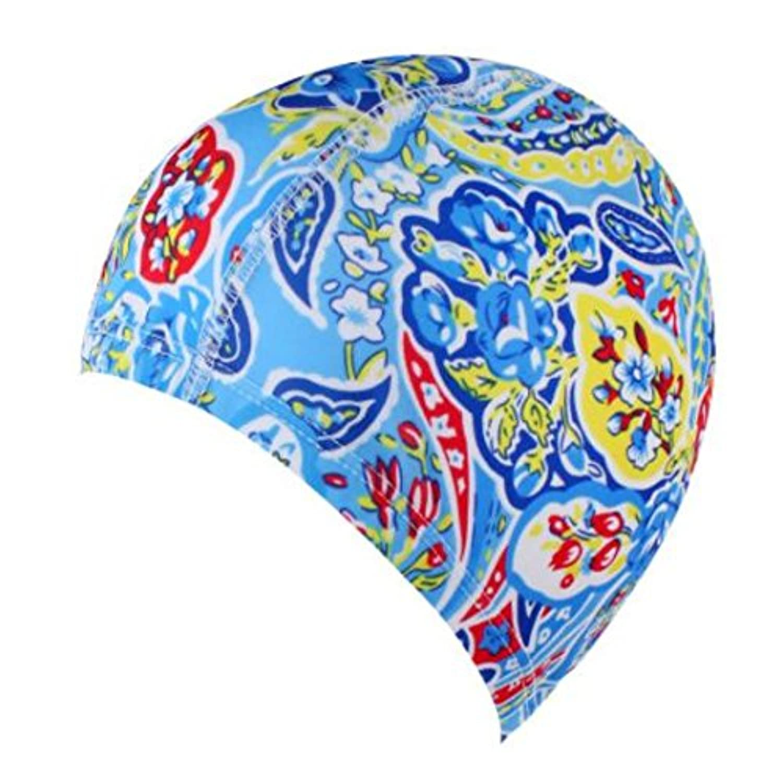 Dmeru スイムキャップ 水泳キャップ   シリコーン スイミングキャップ ロングヘアーにも対応 イヤーポケット付き 水泳 帽子 多色いり