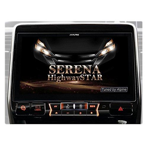 [해외]알파인 (ALPINE) BIG X 세레나 C27 닛산 원래 내비게이션 설치 패키지 장착 차량 전용 네비게이션 11 인치 빅 X EX11Z-SE/Alpine (ALPINE) BIG X Serena C27 ??Nissan original navigation installation car attaching car exclusive use car naviga...