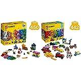 レゴ(LEGO) クラシック 創造力の窓 11004 ブロック おもちゃ 女の子 男の子 &  クラシック アイデアパーツ<タイヤセット> 10715 知育玩具 ブロック おもちゃ 女の子 男の子【セット買い】