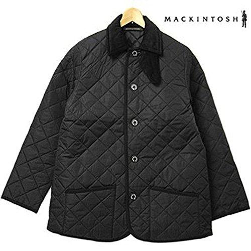 メンズ キルティングジャケット 7163E QT04 WAVERLY ウェイバリー ナイロン ブラック BLACK02 マッキントッシュ