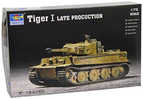 1/72 ドイツ軍 タイガー1型 後期型