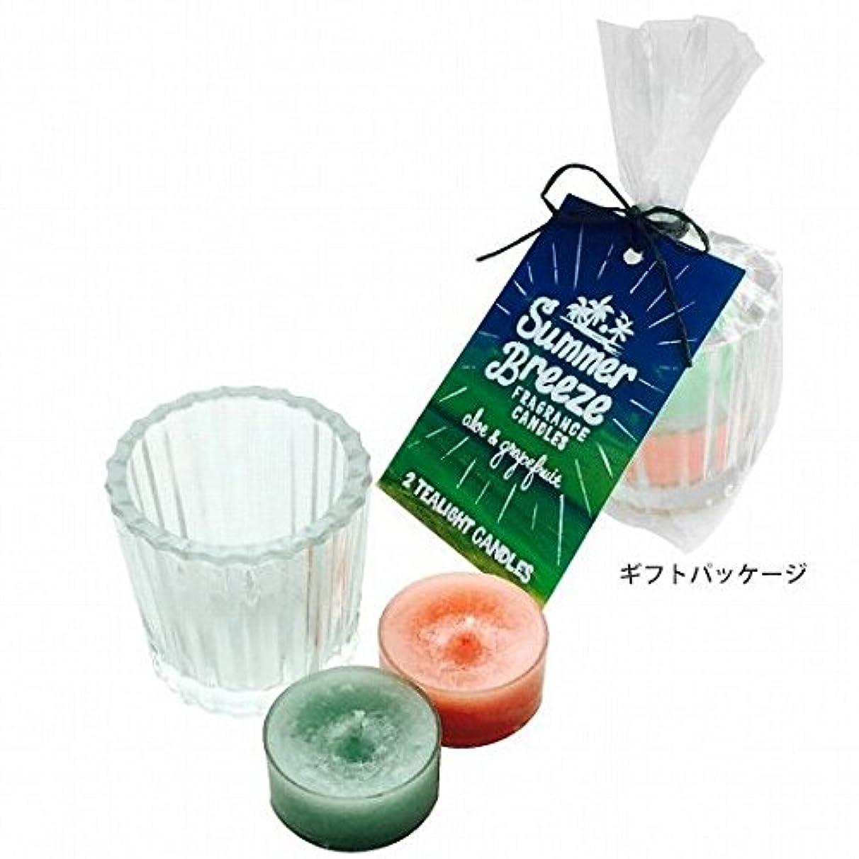 マントル同行する検体kameyama candle(カメヤマキャンドル) サマーブリーズティーライトキャンドルセット(K5090001)
