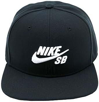 (ナイキ) NIKE キャップ スナップバック ICON PRO ブラック SB FREE (サイズ調整可能)