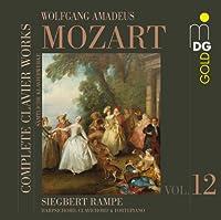 Complete Clavier Works 12 by SIEGBERT RAMPE (2011-07-12)